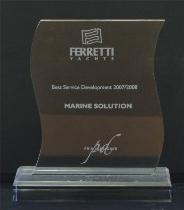 Best Service Development Award 2007 – 08