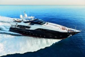 Ferretti Custom Line 100 super yacht