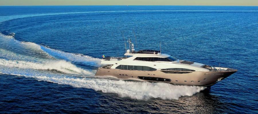 Ferretti Custom Line 124 launch