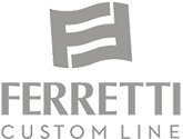 Ferretti Custom Line dedicated logo