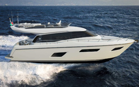 Ferretti Yachts 450 Project
