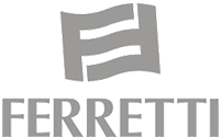 Ferretti yachts dedicated logo 1