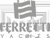 Ferretti yachts dedicated logo