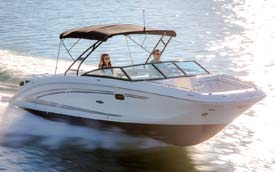 Sea Ray 290 Sundeck Speedboat in India