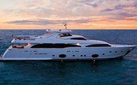 Custom Line 112 Next Pre Owned Yacht Sale India