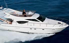 Ferretti 460 pre-owned yacht sale india