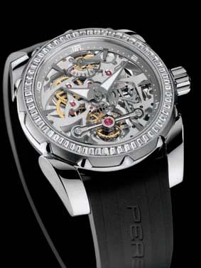 pershing chronograph