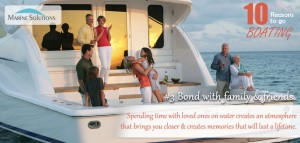 boating helps bond with family friends