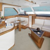Bertram 54 interiors
