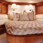 Bertram 70 interiors