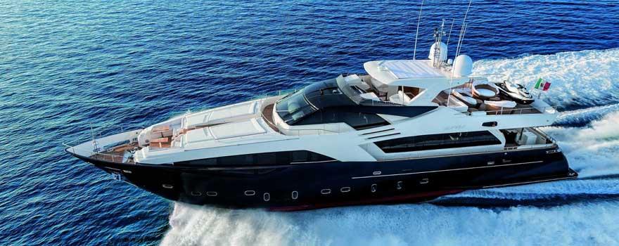 Ferretti Custom Line 100 Mega Yacht Sale India - Marine