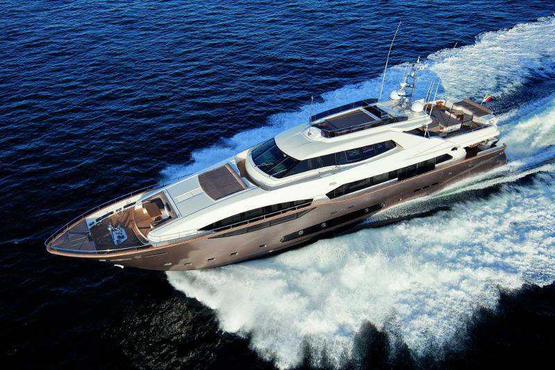 Ferretti Custom Line 124 - Mega yacht for sale in India