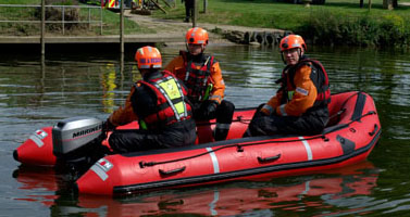Inflatable Emergency Response Boat