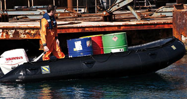 Inflatable Work boats dealer India