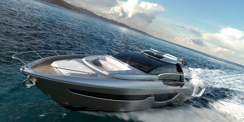 Luxury Yacht Riva 76