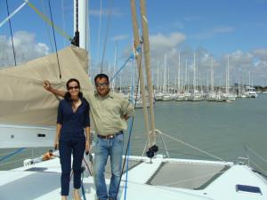 Gautama Dutta and Anju Dutta, Marine Solutions, India