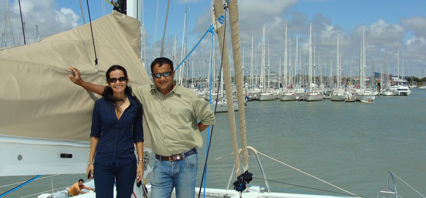 Gautama Dutta and Anju Dutta, Marine Solutions, India