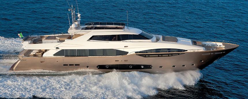 Custom Line 124 Yacht India