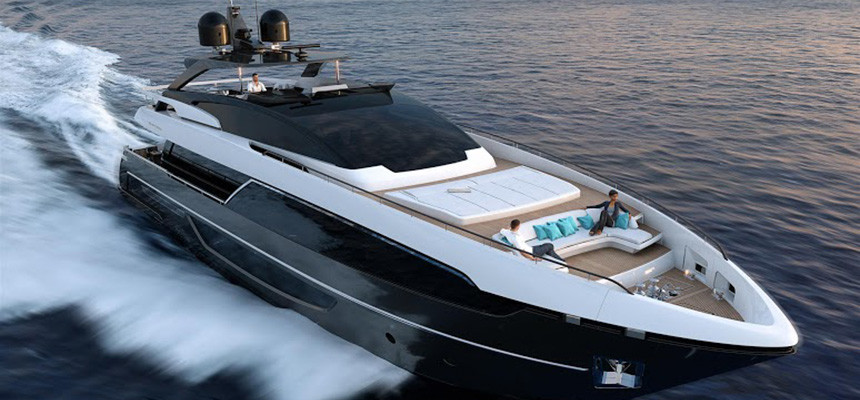 Riva 100 Carsaro Super Yacht India