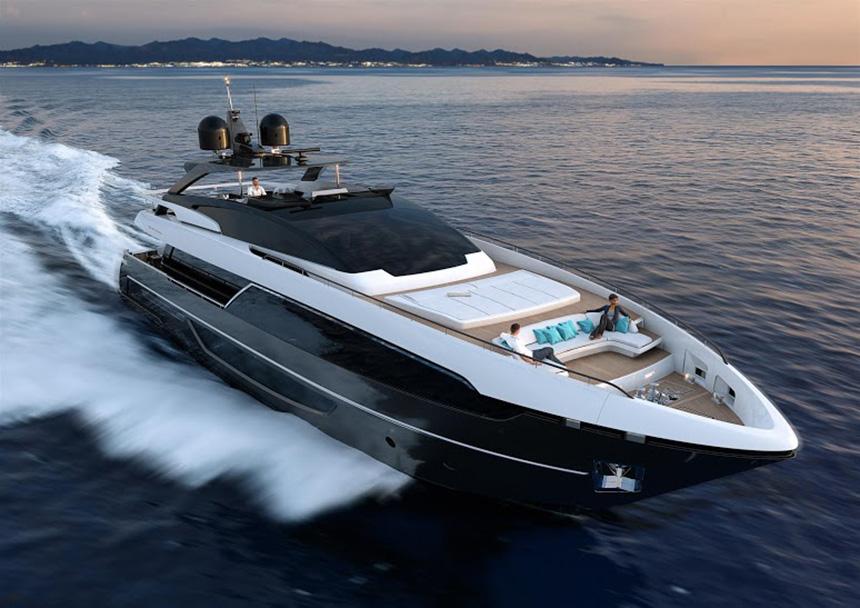 Riva 100 Carsaro Super Yacht India