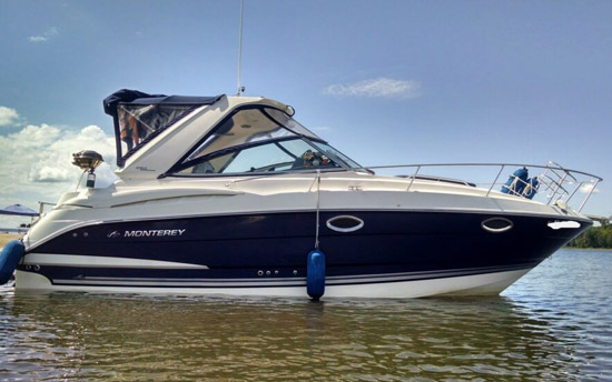 Monterey 280 Pre Owned Yacht Sale India