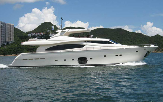 Ferretti 881 HT Pre Owned Yacht For Sale